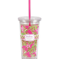 Lilly Pulitzer Tumbler With Straw Jungle Tumble