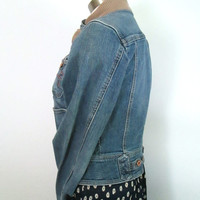 1990s Guess Denim Jacket Vintage Back To School