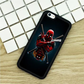 Deadpool Dead pool Taco soft TPU Phone Cases For iPhone 6 6S 7 Plus 5 5S 5C SE 4 4S ipod touch 4 5 6 Cover Shell  DC Marvel superhero comic book AT_70_6