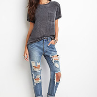 Heathered Pocket Tee
