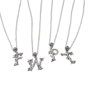 Letter Necklace Pendants