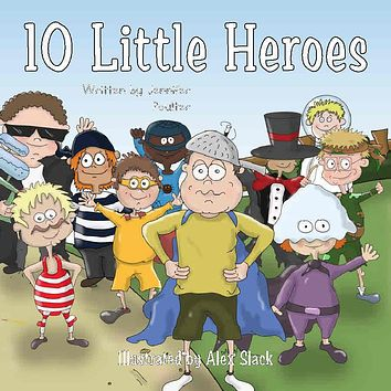 10 Little Heroes Personalized Storybook - Soft Cover