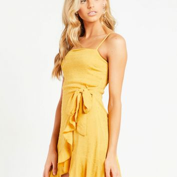 Ready Or Not Dress - Mustard