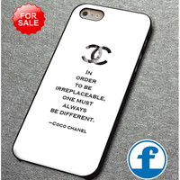 Choco Chanel Quotes (3)  for iphone, ipod, samsung galaxy, HTC and Nexus PHONE CASE