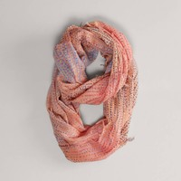 AEO Dotted Stripe Loop Scarf | American Eagle Outfitters