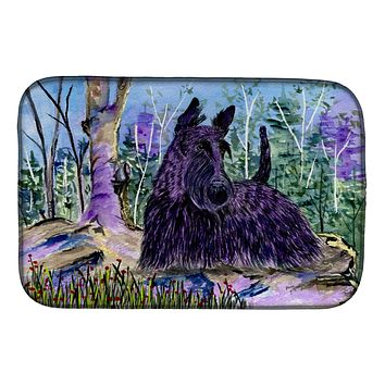 Scottish Terrier Dish Drying Mat SS8666DDM