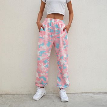 Candy Camo Joggers