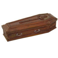 Gothic Coffin Box - CC9066 by Medieval Collectibles