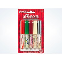 Coca Cola Liquid Lip Flavored Smacker Gloss Set of 5 New with Card