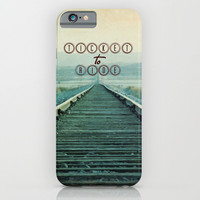 Ticket to Ride iPhone & iPod Case by Shawn King