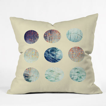 Elisabeth Fredriksson Dream Circles Throw Pillow