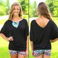 Your Favorite Everyday Top in Black