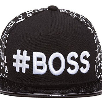#BOSS Emoticon Polished Bill Snapback