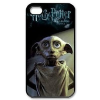 Lovely ELF Dobby in Harry Potter Printed Hard Case Cover for iPhone 4/4s