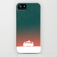 Quiet Night - starry sky iPhone & iPod Case by Budi Satria Kwan