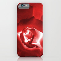 Red Rose iPhone & iPod Case by ARTbyJWP