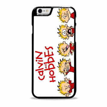 Calvin And Hobbes cute cartoon Iphone 6 plus Cases