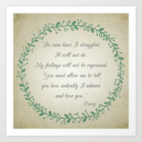 Ardently Art Print by Mockingbird Avenue