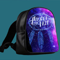 Galaxy Dream Catcher Pierce The Veil Band for Backpack / Custom Bag / School Bag / Children Bag / Custom School Bag ***