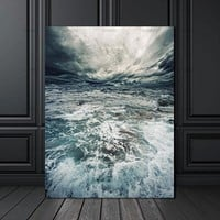 Wall Picture home decor canvas decoration for living room Canvas painting Wall art picture print on seawater poster  no frame