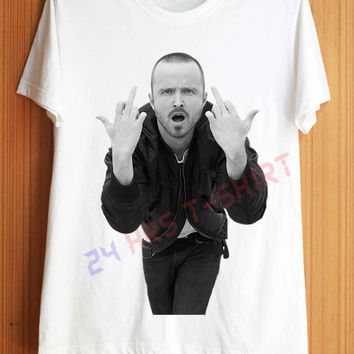 Jesse Pinkman Shirt Breaking Bad Shirt T Shirt T-Shirt TShirt Tee Shirt No Side Seams Unisex - Size S M L XL