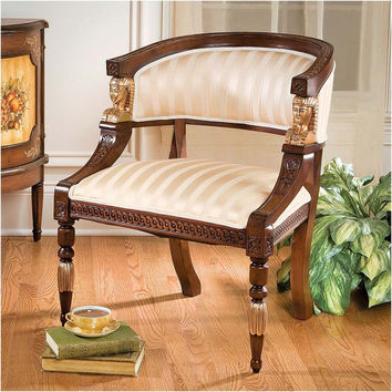 Park Avenue Collection Egyptian Revival Chair