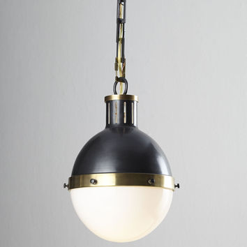 Large Hicks Two-Light Pendant - Visual Comfort