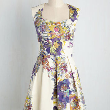 Long-Term Loveliness Dress in Garden