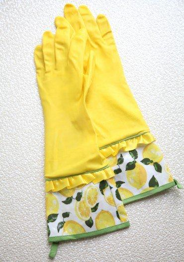 Spring Cleaning Rubber Gloves