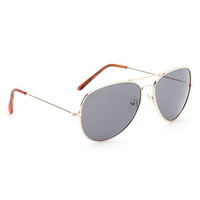 With Love From CA Basic Aviator Sunglasses at PacSun.com