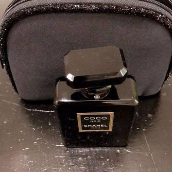 Coco Noir Chanel Paris 1.7 Fl 100% Authentic With Chanel Bag