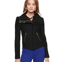 Textured Sweater Knit Jacket by Juicy Couture
