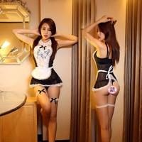 French Maid Babydoll Lingerie