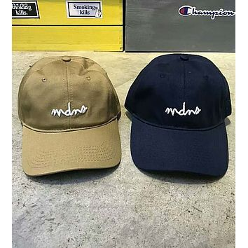 MADNESS MDNS 2018 summer new sunshade cap embroidery letter cap F-Great Me Store