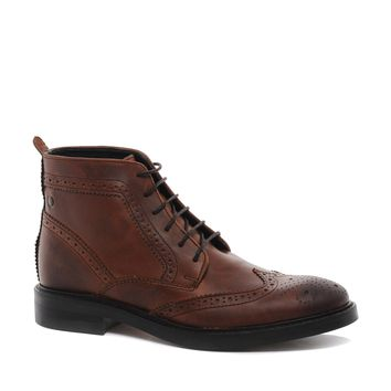 Base London Brocket Brogue Boots -