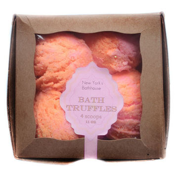 Orange Sherbet Bubble Bath Truffles