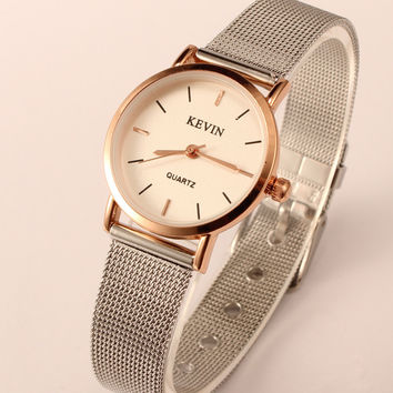 Trendy New Arrival Good Price Designer's Awesome Stylish Great Deal Gift Ladies Simple Design Couple Watch [4915483204]