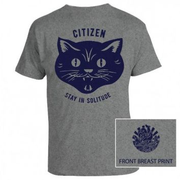 Citizen - Stay in Solitude shirt (Grey) - Citizen - Artists