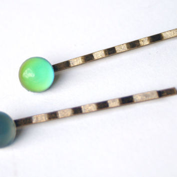 Mood Color Changing Bobby Pins