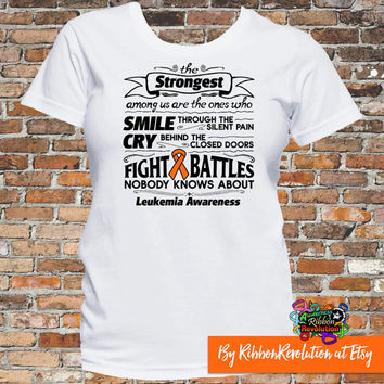 Leukemia Strongest Among Us T-Shirt