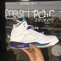 QIYIF Jordan retro 5 Grape 2006 (size 12)