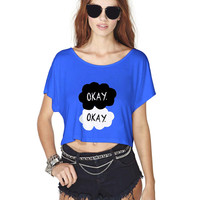 fault in our star Crop Shirt , Custom Crop Shirt , Woman Crop Shirt