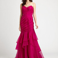 Theia - Organza Gown