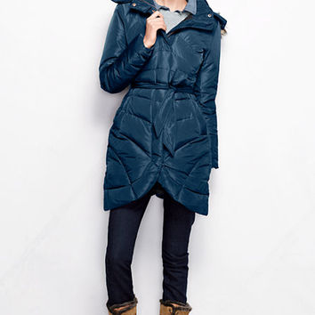 Women's Tulip-Hem Down Coat from Lands' End