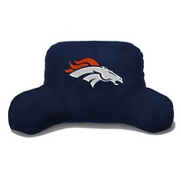 Denver Broncos NFL Bedrest Pillow