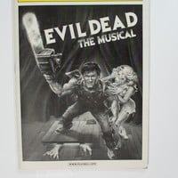 Evil Dead The Musical Playbill
