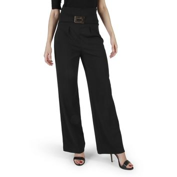 Rinascimento Black Side Zip Pant