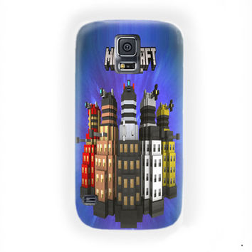 Minecraft  Doctor Who Skin Pack Xbox 360 For Samsung Galaxy S5 Case
