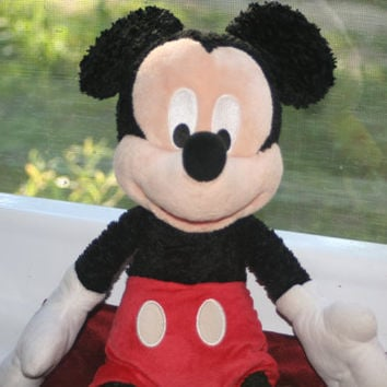 Mickey Mouse 18 inch Plush Doll,Disneyland Original