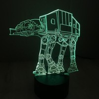 AT-AT 3D Star Wars Lamp